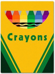 319 Crayon Box free clipart.