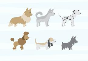 Dog Clipart Free Vector Art.