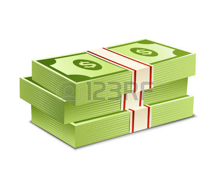 181,088 Dollars Money Stock Vector Illustration And Royalty Free.
