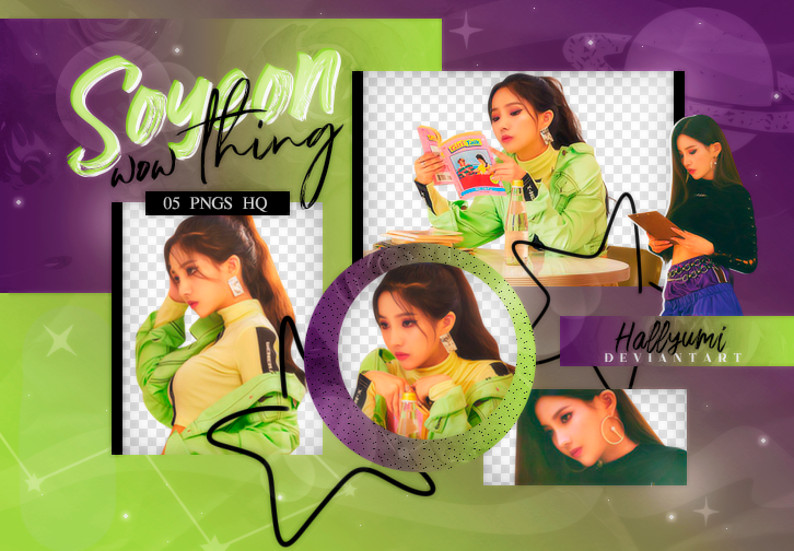 PNG PACK: Soyeon #1 (Wow Thing) by Hallyumi on DeviantArt.