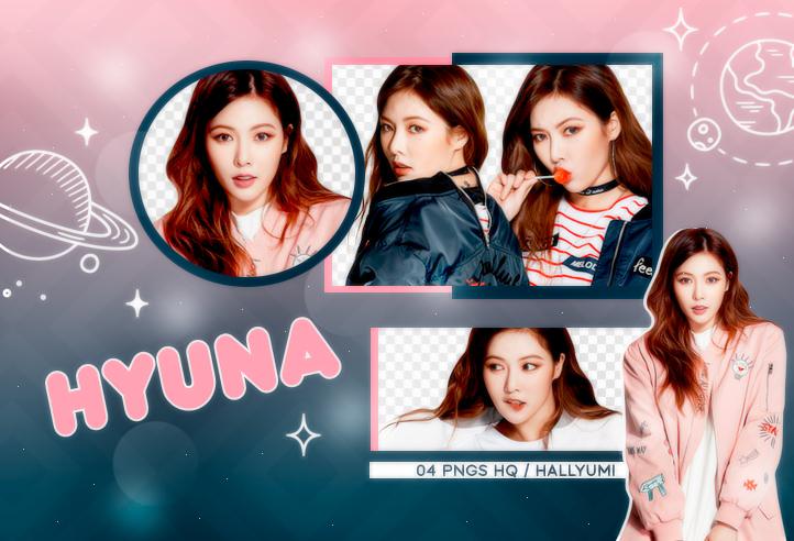 PNG PACK: HyunA #1 by Hallyumi on DeviantArt.