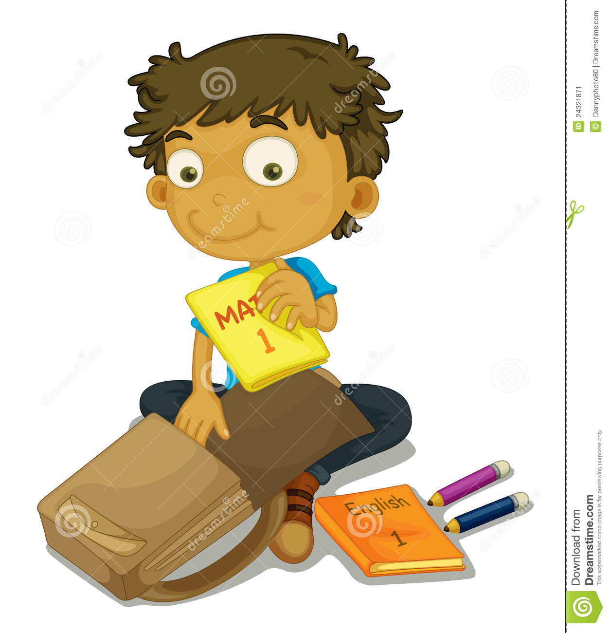 Pack school bag clipart 11 » Clipart Station.