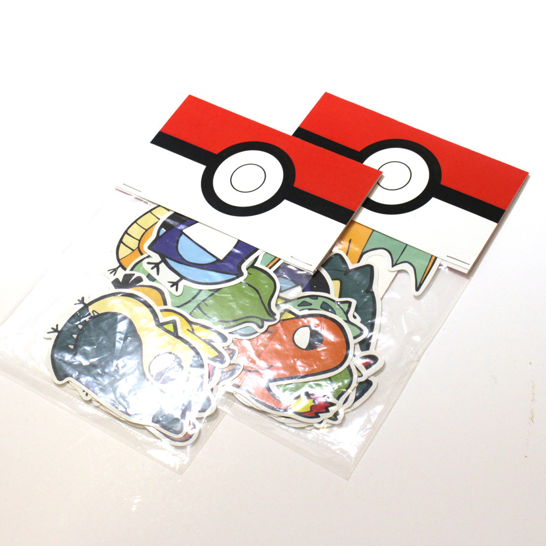 Pokemon Sticker Pack.