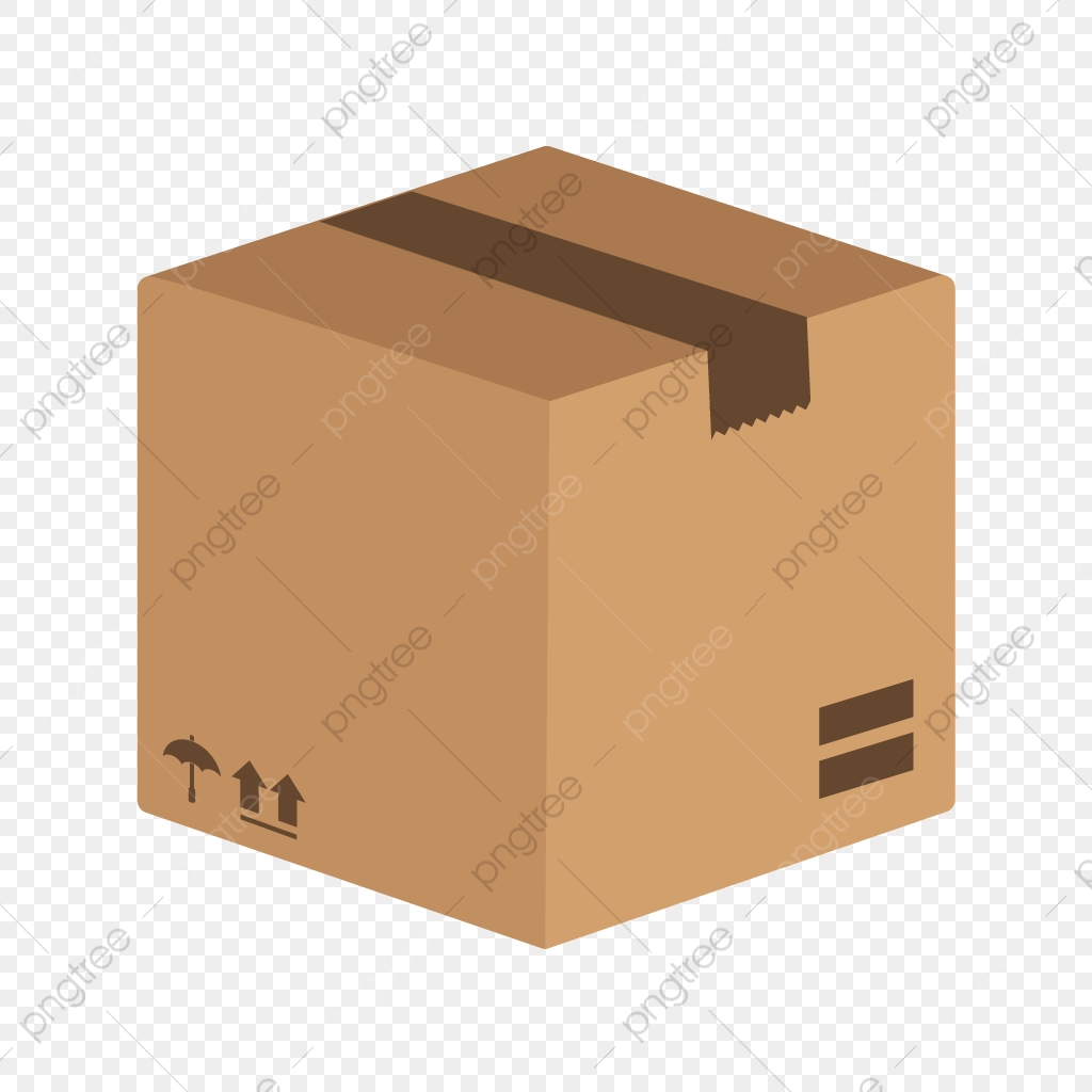 Vector Package Icon, Box Icon, Cargo Box Icon, Package Icon.