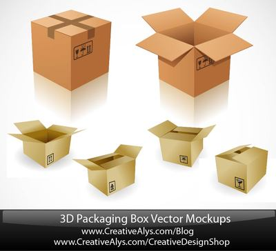 Packaging Clip Art, Vector Packaging.