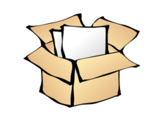 Vector clipart packages.