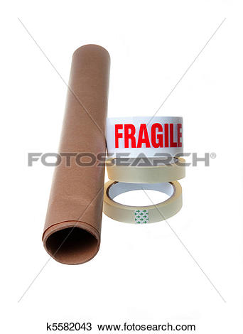 Stock Photo of Packaging Material k5582043.
