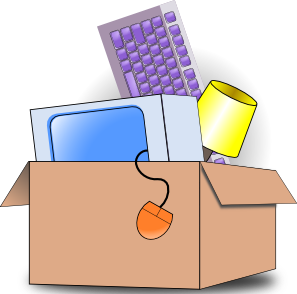 Packing And Moving Clipart.