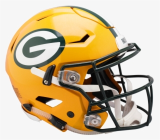 Packers Speed Flex Helmets.