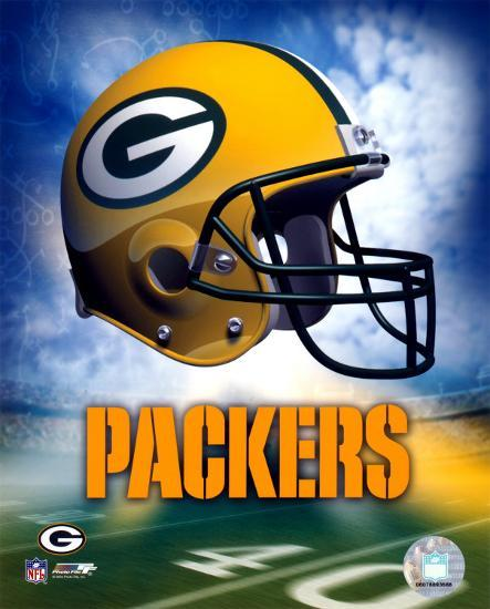 Green Bay Packers Helmet Logo.