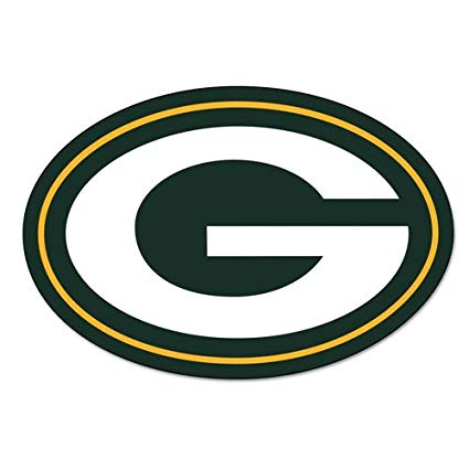 Amazon.com : Green Bay Packers Logo on the GoGo Car Grill.