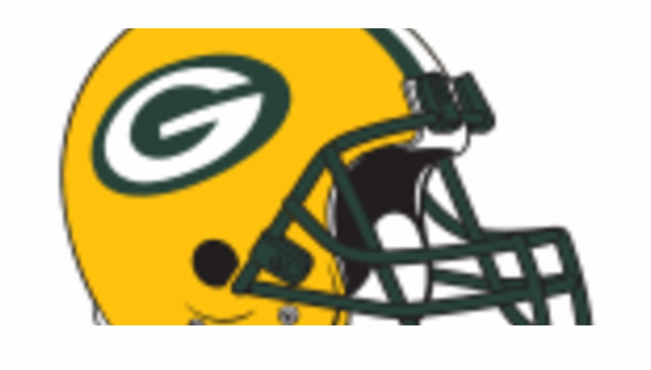 Transparent Green Bay Packers Helmet.