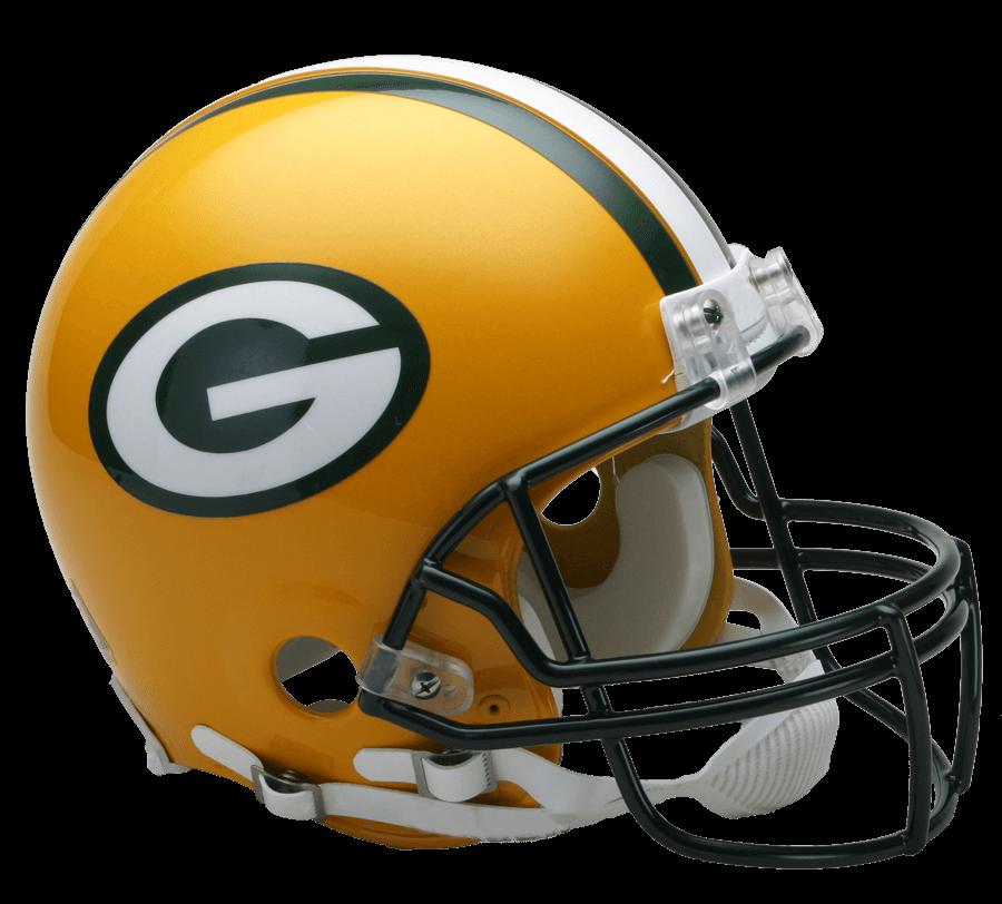 Green Bay Packers Helmet transparent PNG.
