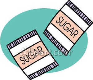 Sugar Packet Clipart.