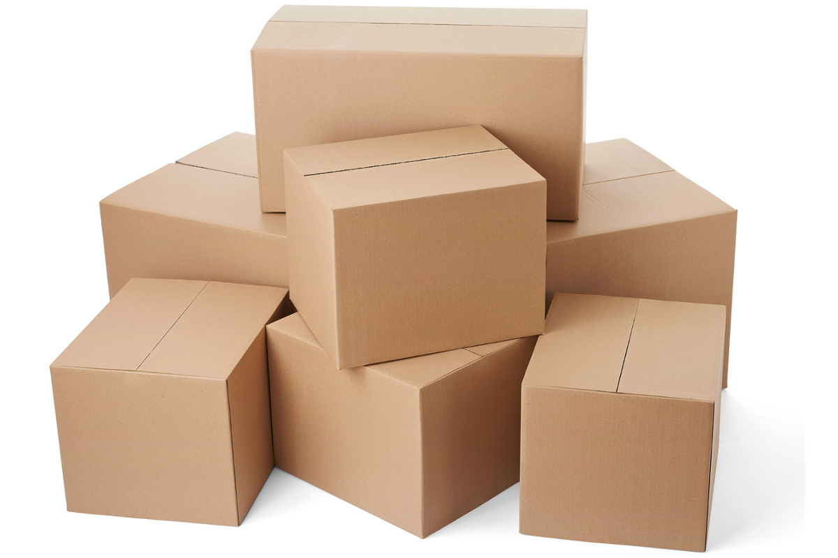 1113 Boxes free clipart.