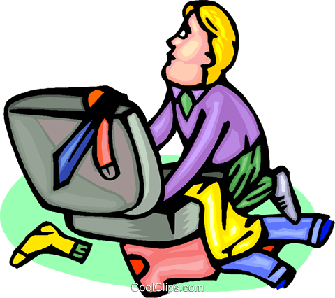 packing a suitcase for travel Royalty Free Vector Clip Art.