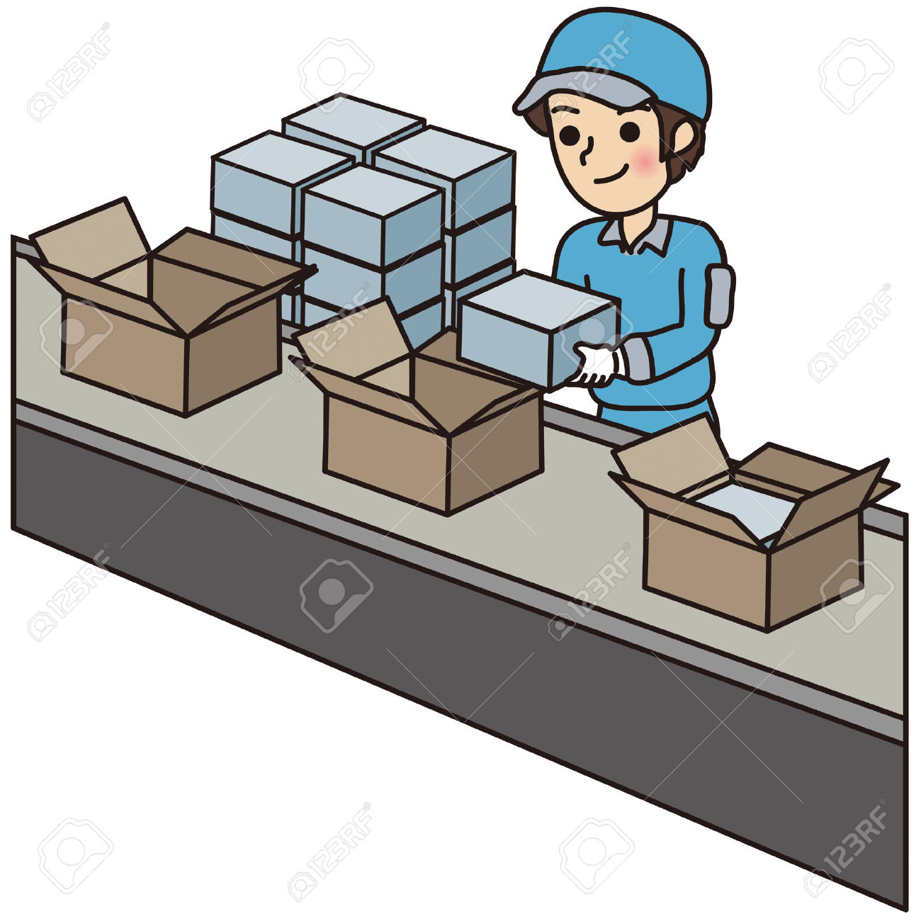 Clipart packing.