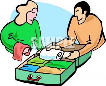 Clip Art For A Trip Packing Clipart#1939032.