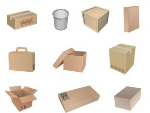 Free Packaging Symbols Vector.
