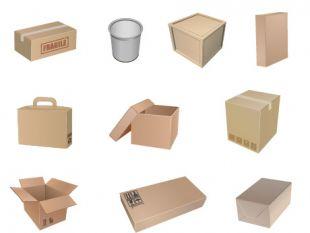 Free Packaging Symbols Vector.