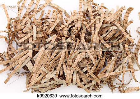 Stock Photograph of Paper packing material k9920639.