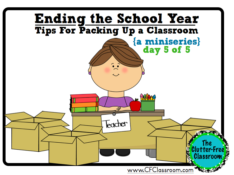 Tips from Other Teachers {Ending the School Year Series: Post 5.