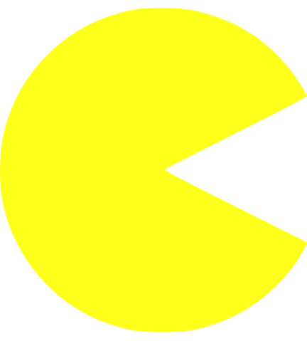 Pictures Free Pacman Clipart #25201.