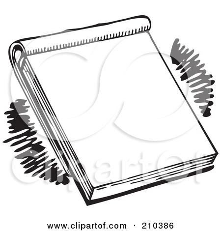 Pad paper clipart.