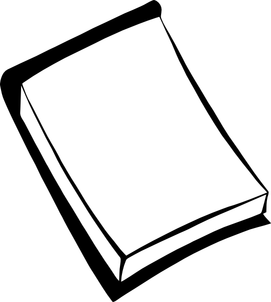 Pad Of Paper Clipart.