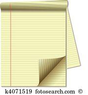 Pad paper Clip Art EPS Images. 12,141 pad paper clipart vector.