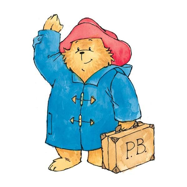 paddington bear school clipart #13