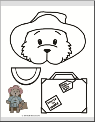 Paddington Bear Craft.