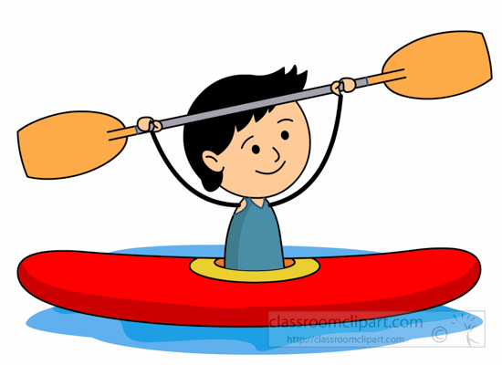 Paddle boat Vector Clip Art Royalty Free 2565 Paddle