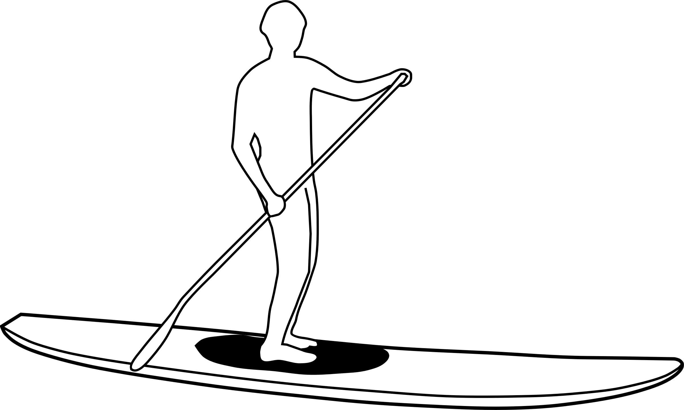 Paddle Clipart.