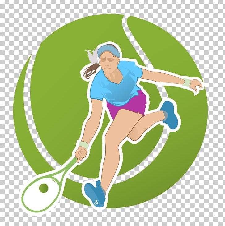 Tennis Player Racket Euclidean PNG, Clipart, Cartoon Tennis.