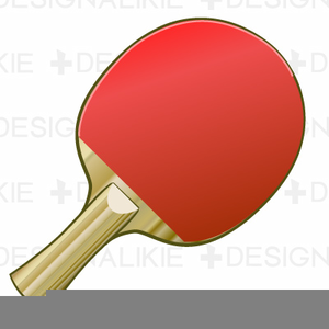 Paddle Tennis Clipart.