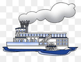 Riverboat PNG.