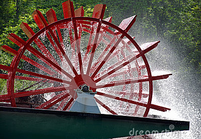 Paddle Wheel River Boat Free Stock Photos & Pictures, Paddle Wheel.