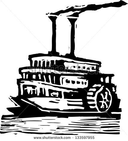 Paddle Wheeler Clipart