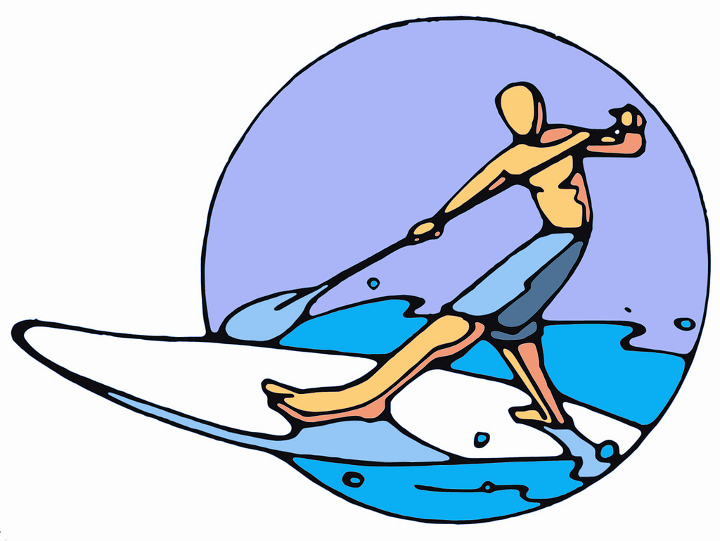Free Paddleboarding Cliparts, Download Free Clip Art, Free.