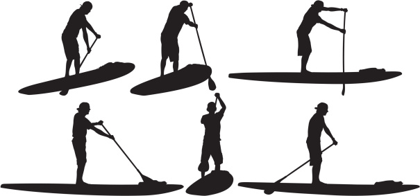 Free Paddleboard Silhouette Cliparts, Download Free Clip Art.