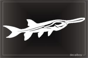 Paddlefish Decals & Stickers.
