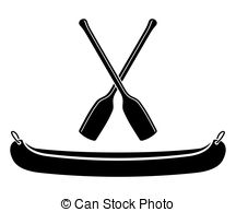 Canoe Paddle Clipart.