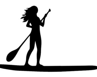 Paddle Board Clipart.