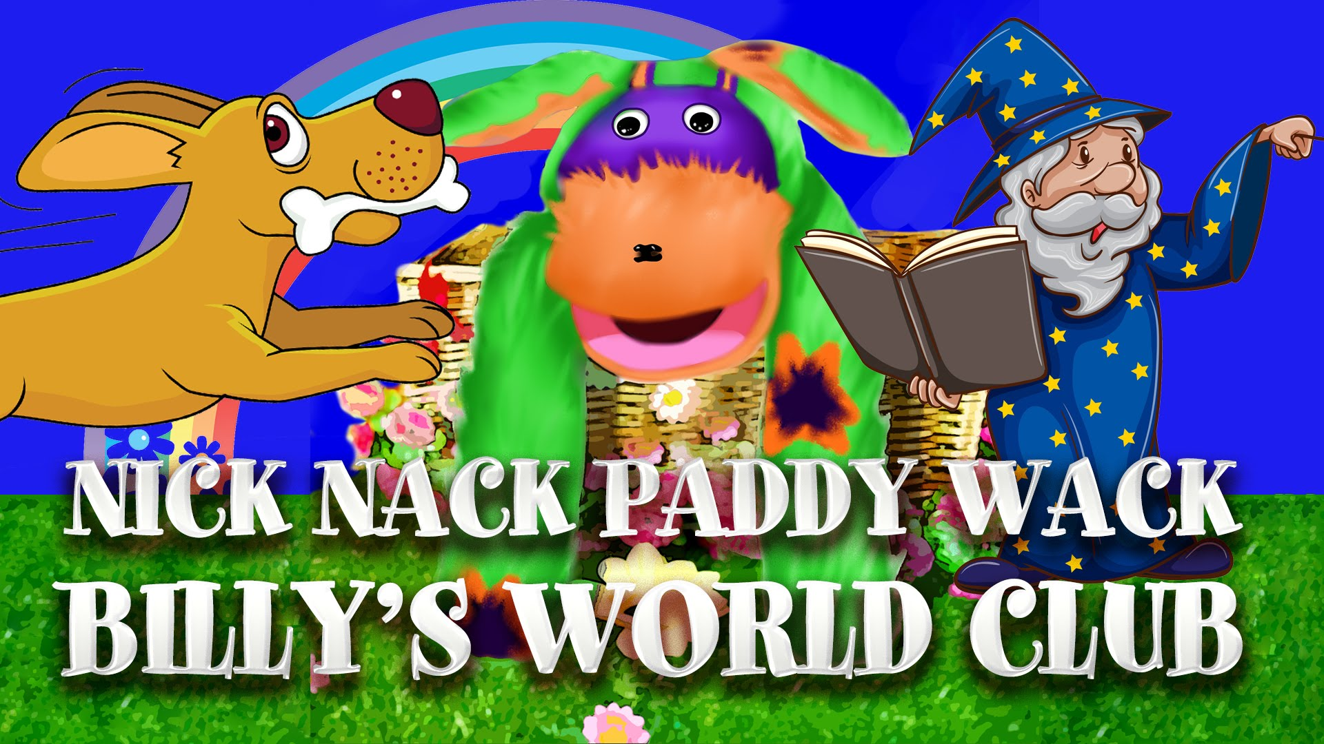 Counting to 10 Nursery Rhyme Nick Nack Paddy Wack from Billy's.