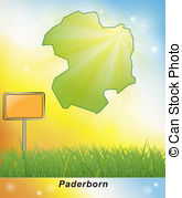 Map of paderborn Illustrations and Clipart. 64 Map of paderborn.