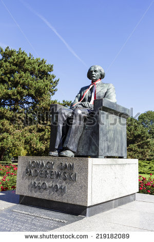 Ignacy Jan Paderewski Stock Photos, Royalty.