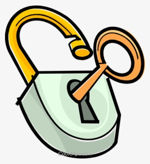 Lock And Key Png PNG Images.