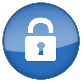 Safe With Padlock Clipart.