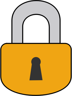 Free clipart padlock.
